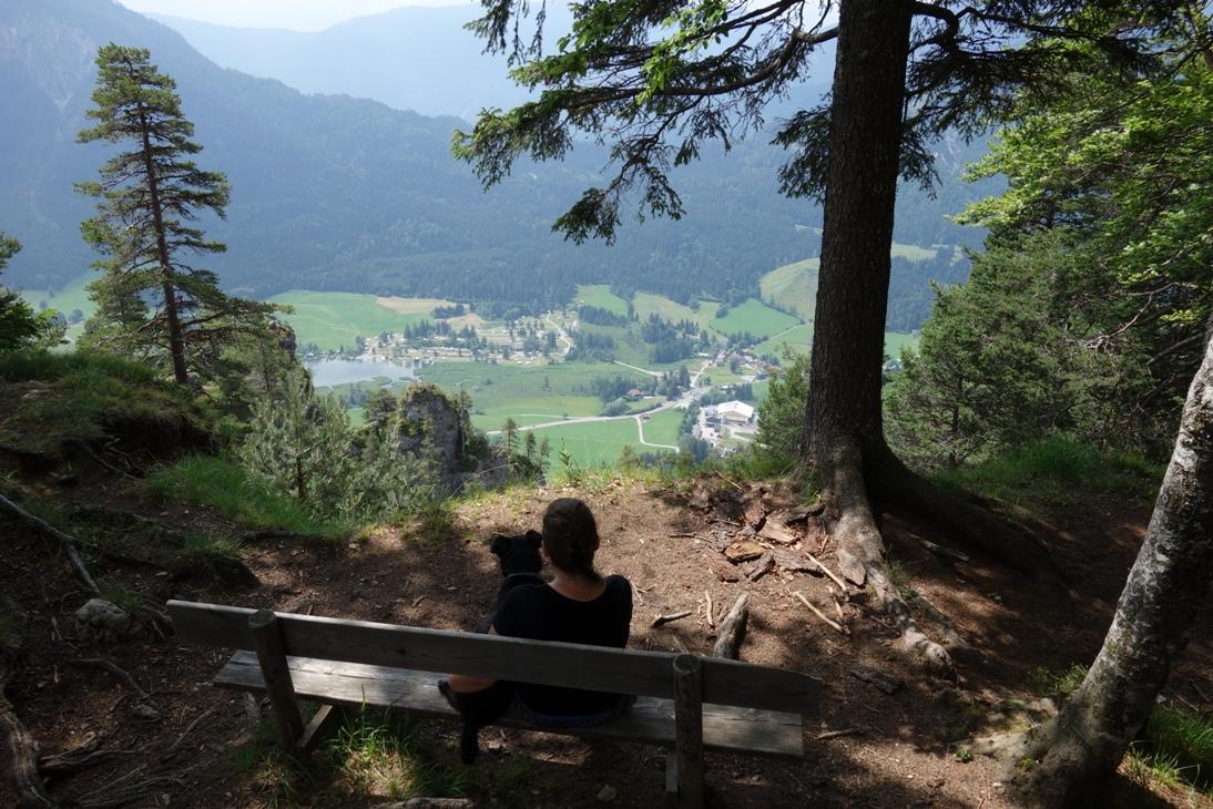 Wszystkie szlaki prowadzą na Weiße Wand.