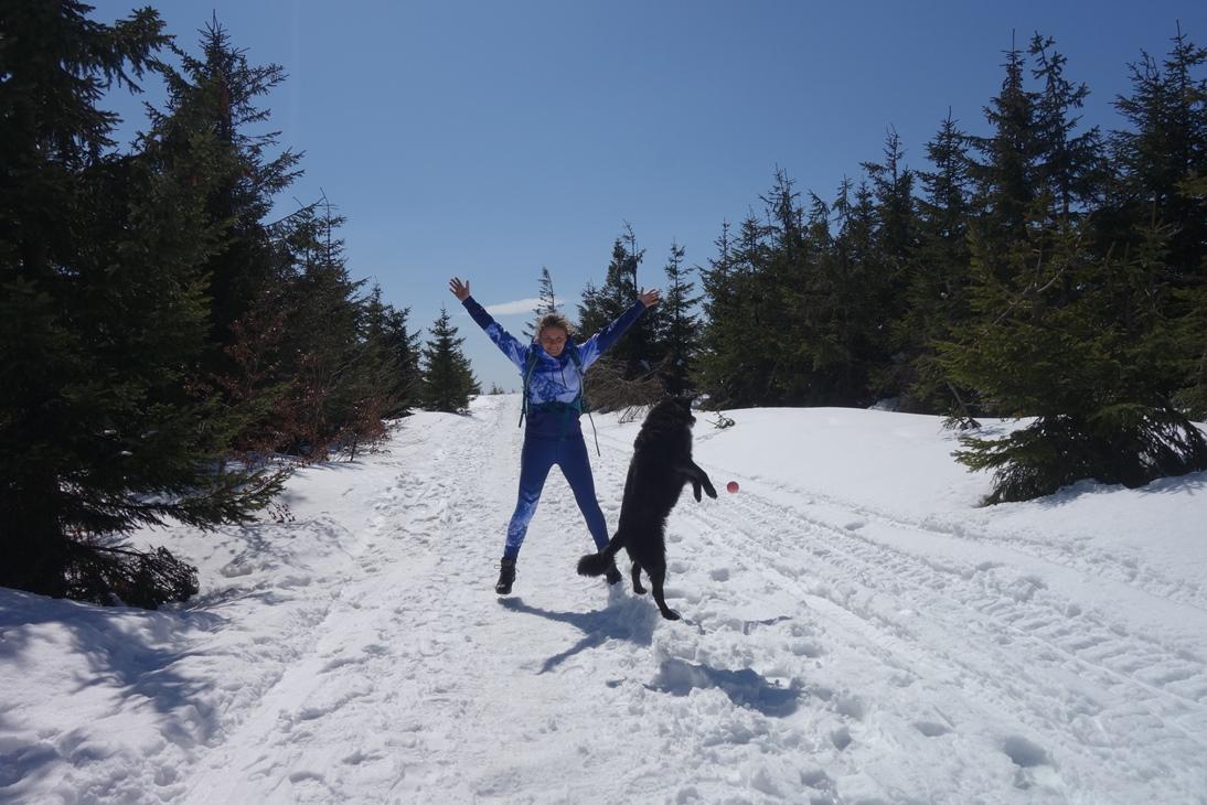 Zimowiosna w Beskidzie Śląskim – Skrzyczne i Malinowska Skała