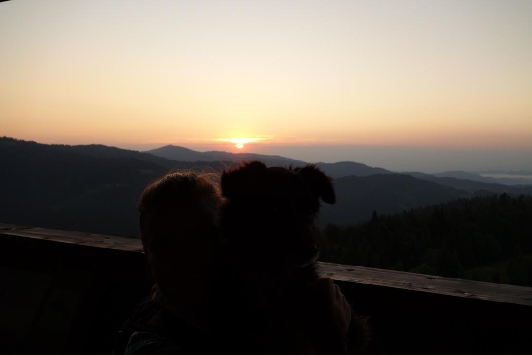 Wschód słońca w górach – suma wszystkich strachów.