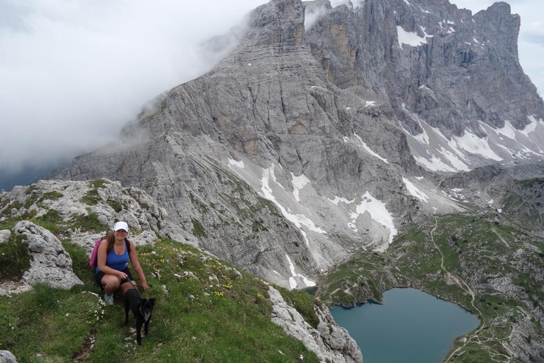 Trekking w masywie Civetty – Cima Coldai i Lago di Coldai.